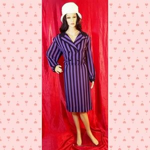 Vintage Lorac Original Striped Dress
